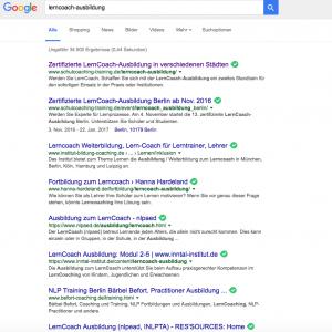 Auf Platz 1 im Google-Ranking mit Online Pressemitteilung von SterzerPR